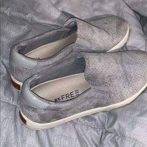 Dr. Scholl's Be Free Grey Slip On